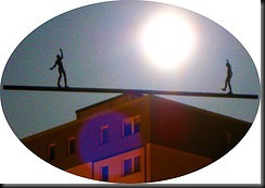 lunatics keep their equilibriium under the full moon